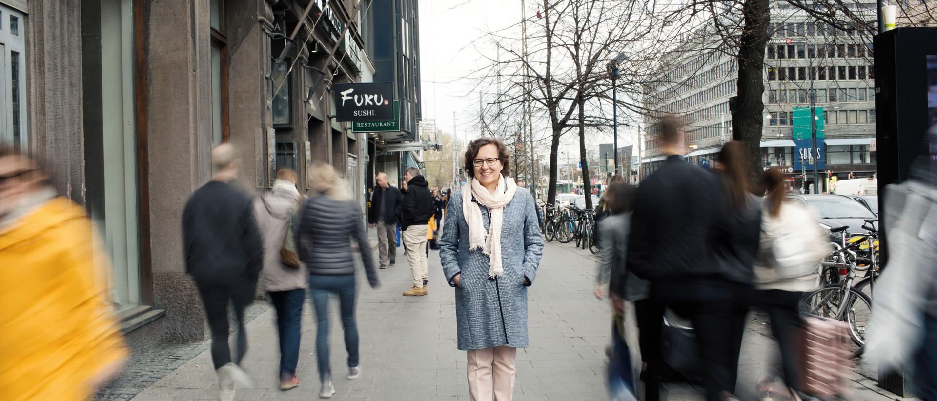 Anna-Liisa Tarvainen, toimitusjohtaja, Liikenneturva